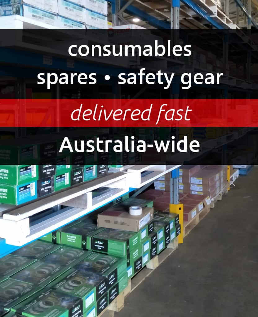 Consumables, Spares, Safety Gear - Delivered Fast - Australia-wide