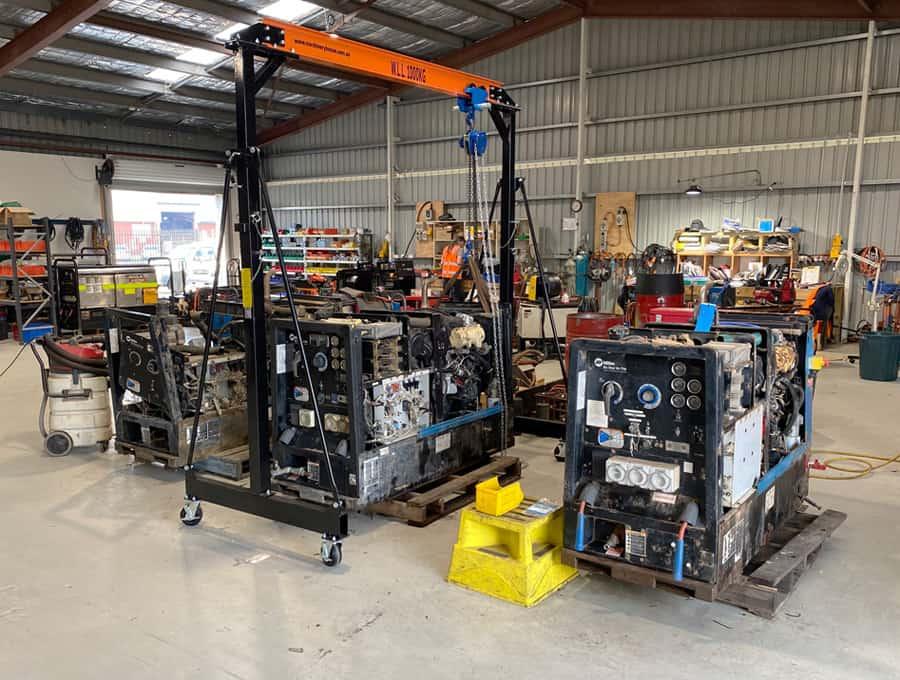 Welder Repairs and Service